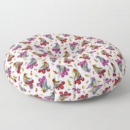 Roller Craze I Floor Pillow