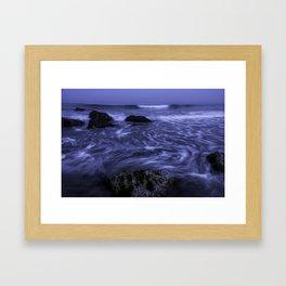 White Point Beach Framed Art Print