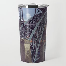 crossing bridges Travel Mug