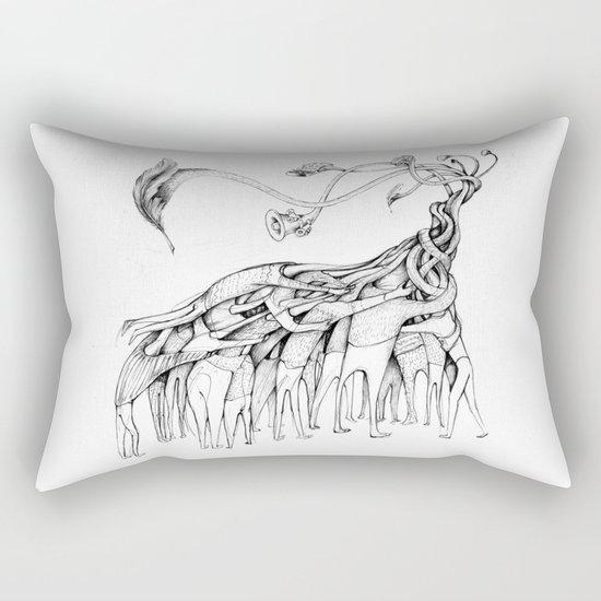 Freedom of Speech Rectangular Pillow