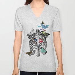 Anatomy 101 - The Thorax Unisex V-Neck