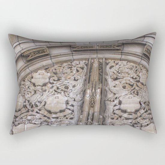 Chicago archway Rectangular Pillow