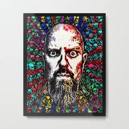 DWreck Glass Metal Print
