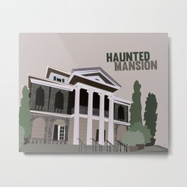 new Orleans square.. haunted mansion Metal Print