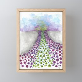 Paths of Color III Framed Mini Art Print