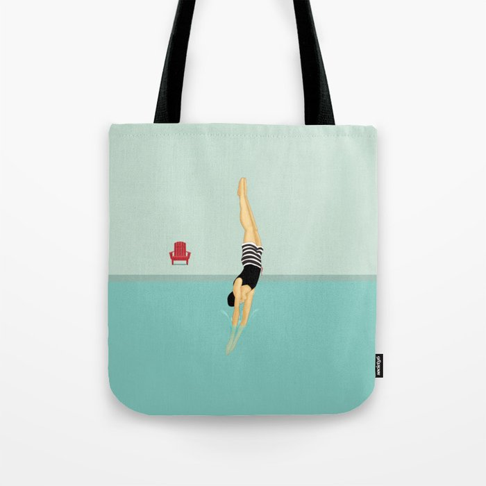 Pool Tricks Tote Bag