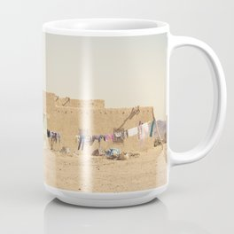 Moroccan Dar in Orange Coffee Mug