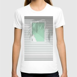 Mint and cat T-shirt