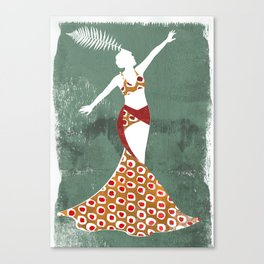 Mae Murray Canvas Print