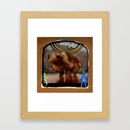 The Deserted Toyshop: Herd Mentality Framed Art Print