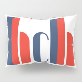 Bauhaus Joschmi Xants Repetition Font Art Pillow Sham