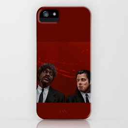 Jules & Vincent iPhone Case