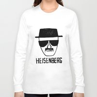 breaking Long Sleeve T-shirts featuring Heisenberg - Breaking Bad Sketch by Bright Enough💡