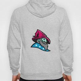 Wizard With Stars Mascot Hoody