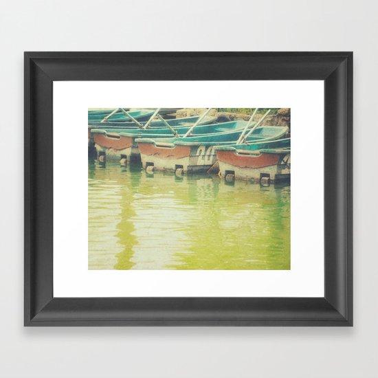 The boat number 20 Framed Art Print