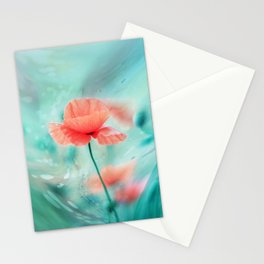 Fantasy Garden - Poppy Dream  Stationery Cards