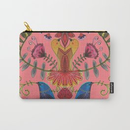 harmonie in salmon Carry-All Pouch