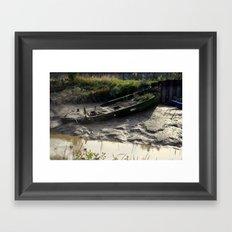 Old Boat (3) Framed Art Print