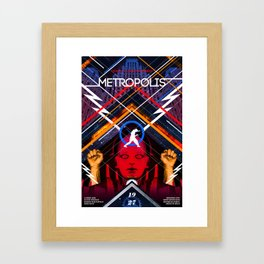 Visions of the Future :: Metropolis Framed Art Print