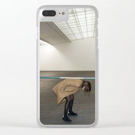 Minimal Mondays Clear iPhone Case