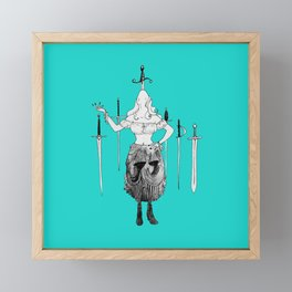 Sword Eater Framed Mini Art Print