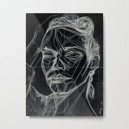 Donna Enigmatica #5; Vivien Solari #1 (B) - Artist: Leon 47 ( Leon XLVII ) Metal Print