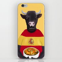 spanish iPhone & iPod Skins featuring The Spanish by Dano77