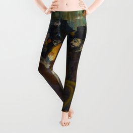 Toulouse-Lautrec - At the Rouge Leggings