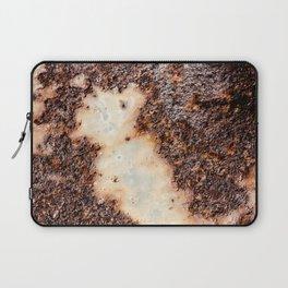 Cool brown rusty metal texture Laptop Sleeve