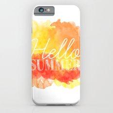 Hello Summer; Slim Case iPhone 6s