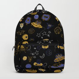 Don't be blue, we are all a little alien Backpack