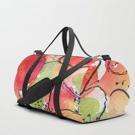 poppies = summer  Duffle Bag
