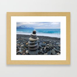 Beach - Hualien Framed Art Print