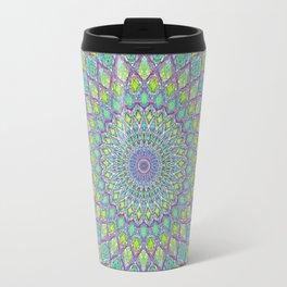 Purple Spirograph Mandala 0118 Travel Mug
