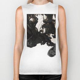 Ink #abstract #black Biker Tank
