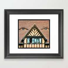 Someone is Looking at You ! Framed Art Print