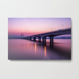 Bridge Over a River Metal Print