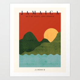 Jamaica Exhibition Art Print