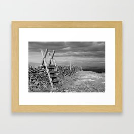 From Pendle Hill Framed Art Print