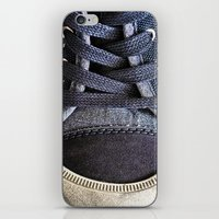 shoe iPhone & iPod Skins featuring Shoe by Fine2art