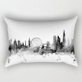 London England Skyline Rectangular Pillow