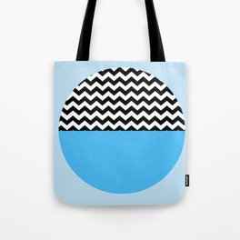Moiety Blue Tote Bag