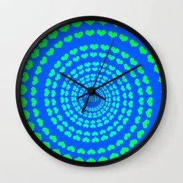 MOM HEARTED - Blue Wall Clock