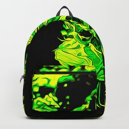 lionfish vector art green Backpack