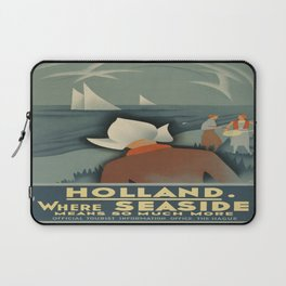 Vintage poster - Holland Laptop Sleeve