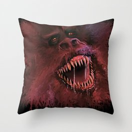 The Crate Beast Throw Pillow