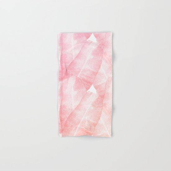 Banana Leaves Pink Hand & Bath Towel