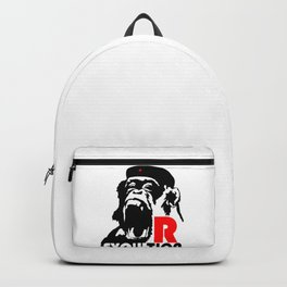 Revolution - Evolution - chimp Backpack