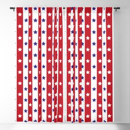 Stars and Stripes Blackout Curtain