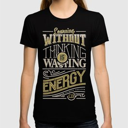 Learning thinking T-shirt